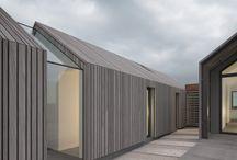 Timber facade
