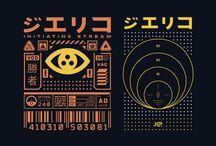 Cyberpunk visuals