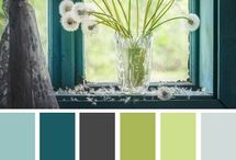 Colour Palettes for home or crochet