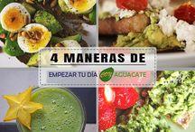 Para tus Desayunos con Aguacate: 4 Recetas Rápidas y Deliciosas