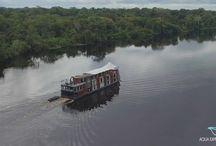 Cruzeiros fluviais - Aqua Expeditions