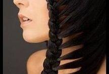 tresses, coiffures glam