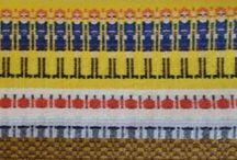 Bunden  Rosengong / swedish  weaving