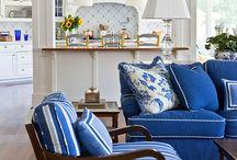 Casa Blu / Blue decorating ideas