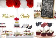 Luxury Roses Baby Shower Party