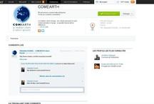 Comearth / Sphère Digitale / Retrouvez-nous sur de nombreux réseaux !
