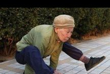 Exercises for Anti-Aging / Yoga, Body Rolling, Tai Chi... are known to help you limber up and keep you sane and calm mentally and physically....