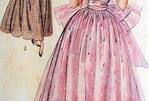 1940s-ish fashion illustration