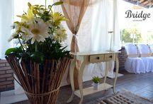 Casamento Rústico / Detalhes lindos, como a madeira, juta e cestos marcam este estilo de casamento
