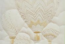 Candlewicking / White embroidery