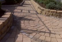 Walkways by Custom Stoneworks & Design Inc. Balto. MD / Different type of walkways we installed