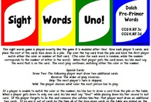 Sight Word Games / by Jessica Kriby