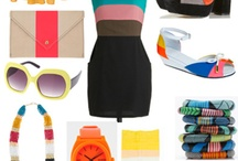 Colour Blocking / I am obsessed with Colour Blocking. Clothing, homewares, you name it. I think it's wonderful!