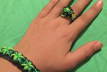 Things to Wear / Rainbow loom bracelets and rings!!!!!:)and other prices of clothing!!!!!?:)
