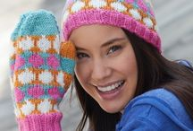 Knitting accessories / Knitting hats, mitts, scarves etc. / by Sonia Rowe
