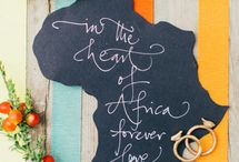 african Theme Weddings