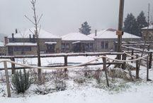 Montanema-handmade village / Montanema is a hand made resort in Plastira's lake, Greece