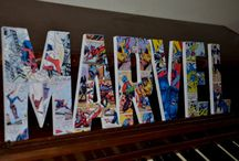 Bams Marvel/power rangers room