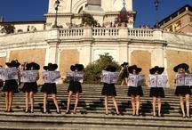 by Circuito Eventi / Flashmob in Rome for Guerlain by Circuito Eventi