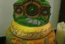 Tolkien Wedding Cake