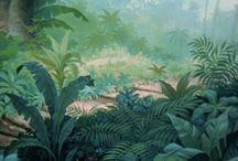 Disney wall painting