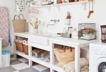 L A U N D R Y / laundry room interior design inspiration / by Lindsay Marcella Design