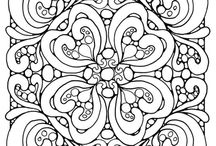 Coloring Page Designs / by Ren Tyhychi