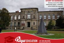 STUDY ABROAD IN GERMANY CONSULTANTS IN DELHI, INDIA - RIYA EDUCATION / Germany is one of the most attractive locations for students worldwide. Students who wish to study in Germany get in touch with Riya Education. #studyinGermany#whystudyinGermany#Germany#educationinGermany#abroadeducationinGermany