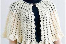 Capas y ponchos crochet