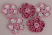 цветы крючком видео