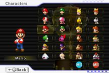 Mario Kart Wii / Mario Kart charachters, bikes,karts and everything else
