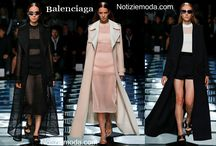 Balenciaga / Balenciaga collezione e catalogo primavera estate e autunno inverno abiti abbigliamento accessori scarpe borse sfilata donna.