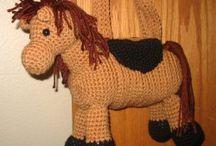 Pferd häkeln