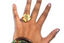 Orgonite Rings