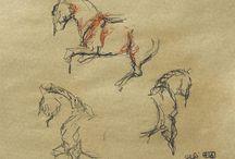 Horses Sketches