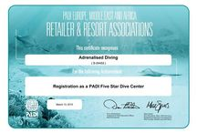 PADI 5 Star Rating!! / We are stoked to announce as of yesterday afternoon Adrenalised Diving has been accredited with the prestigious PADI 5 Star Dive Center rating. A big thank you to all of our staff for their hard work and contributions towards achieving this recognition.