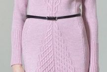 вязание-платья
