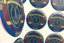 EMBLEMS DOMED STICKERS