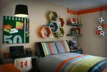 Boy's rooms / by Sports Momma Designs