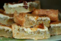 Пироги и пирожки / Пироги луковые, мясные, сырные, рыбные и прочие