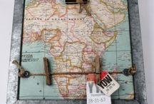 Landkaart idee