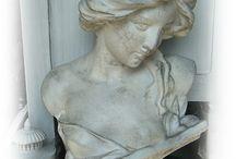 skulpturer - gamla/antik