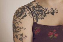 Shoulder flower