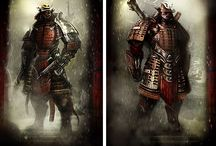 Asian Style / Samurai, Bushido, Art, Tattoo, Zen / by Francisco Alejandro Jiménez Bastidas