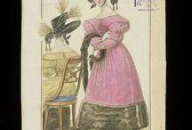 1830s headdress