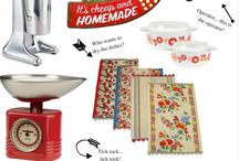 Beck's Retro 50's housewife kitchen