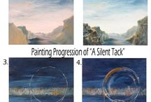 Step-by-Step Painting Progressions