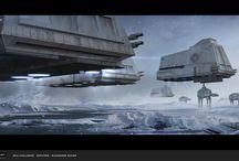 Star wars / Starwars and its art