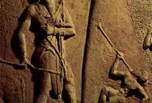 Images, Photos, Statutes, Engravings, Carvings, Glyphs, of Ancient Giant Humans that Walked.