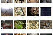 Team Treasuries&Contests / These are Etsy Treasuries, which are made for a contest or for team members. They are not only showcasing products, but also tell a story and are made with special care.